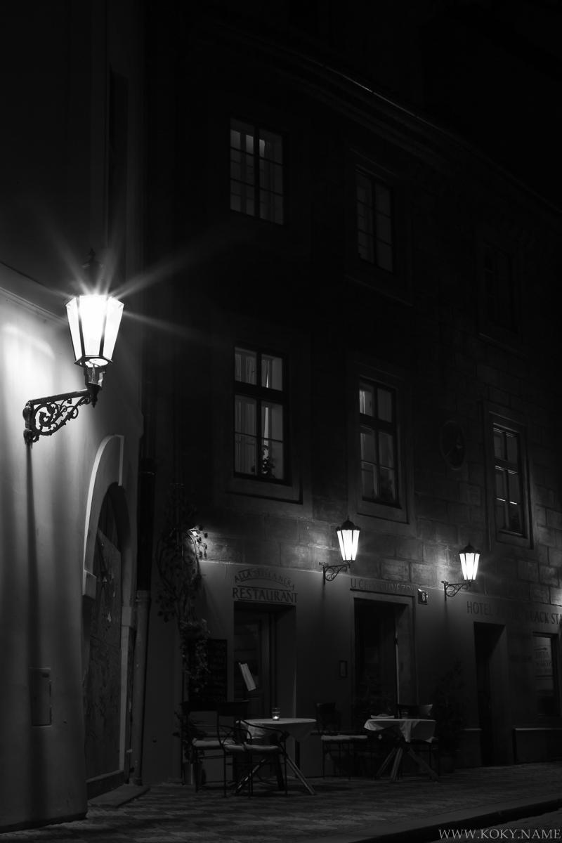 večerní pražská zákoutí