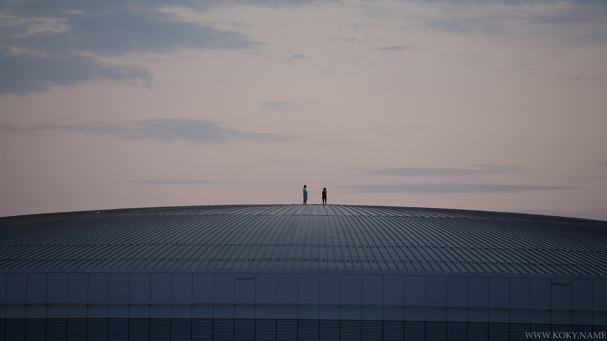 střecha sazka [o2] arény